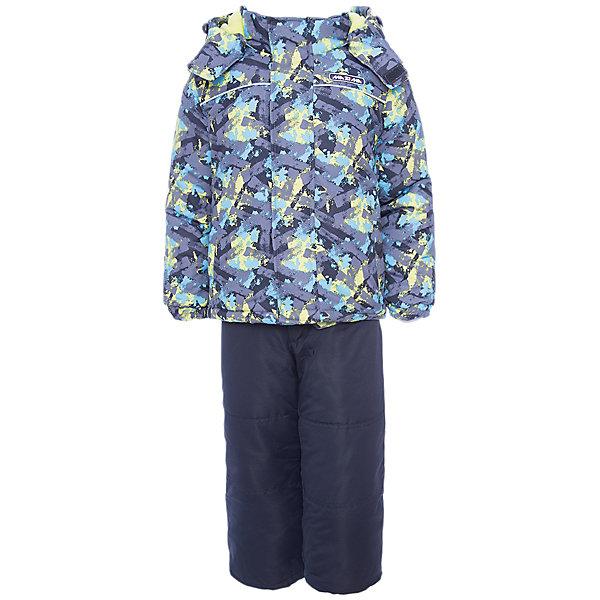 Комплект: куртка и брюки Ma-Zi-Ma для мальчикаВерхняя одежда<br>Характеристики товара:<br><br>• цвет: серый<br>• комплектация: куртка и брюки<br>• состав ткани: 100% полиэстер с водоотталкивающей пропиткой<br>• подкладка: поларфлис <br>• утеплитель: полиэстер<br>• сезон: зима<br>• температурный режим: от -30 до +5<br>• водонепроницаемость: 1000 мм <br>• паропроницаемость: 1000 г/м2<br>• плотность утеплителя: куртка - 280 г/м2, брюки - 200 г/м2<br>• капюшон: съемный, без меха<br>• застежка: молния<br>• брюки усилены износостойкими вставками<br>• страна бренда: Россия<br>• страна изготовитель: Китай<br><br>Такой детский комплект для зимы состоит из куртки с капюшоном и брюк с износостойкими накладками. Зимний комплект для мальчика стильно смотрится и удобно сидит. Верх детской зимней куртки и брюк не промокает и не продувается. Мягкая подкладка детского комплекта для зимы приятна на ощупь. <br><br>Комплект: куртка и брюки Ma-Zi-Ma (Ма-Зи-Ма) для мальчика можно купить в нашем интернет-магазине.<br>Ширина мм: 356; Глубина мм: 10; Высота мм: 245; Вес г: 519; Цвет: серый; Возраст от месяцев: 18; Возраст до месяцев: 24; Пол: Мужской; Возраст: Детский; Размер: 92,152,146,140,134,128,122,116,110,104,98; SKU: 7144432;