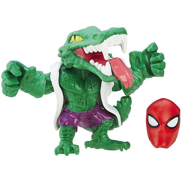 Микро-фигурка Hasbro Marvel Super Hero Mashers, Ящер 5 смГерои комиксов<br>Характеристики товара:<br><br>• возраст: от 4 лет;<br>• материал: пластик;<br>• в комплекте: фигурка, дополнительная деталь;<br>• высота фигурки: 5 см;<br>• размер упаковки: 17,7х13,9х3,7 см;<br>• вес упаковки: 86 гр.;<br>• страна производитель: Китай.<br><br>Микро-фигурка Марвел Hero Mashers Hasbro представляет собой одного из персонажей известных комиксов Марвел. В наборе представлена дополнительная деталь для героя, присоединив которую, получится совершенно новый персонаж со своими боевыми возможностями. Благодаря универсальным креплениям все детали серии совместимы между собой, что позволит их комбинировать и создавать все новых и новых супергероев.<br><br>Микро-фигурку Марвел Hero Mashers Hasbro можно приобрести в нашем интернет-магазине.<br>Ширина мм: 37; Глубина мм: 139; Высота мм: 177; Вес г: 86; Возраст от месяцев: 48; Возраст до месяцев: 96; Пол: Мужской; Возраст: Детский; SKU: 7144826;