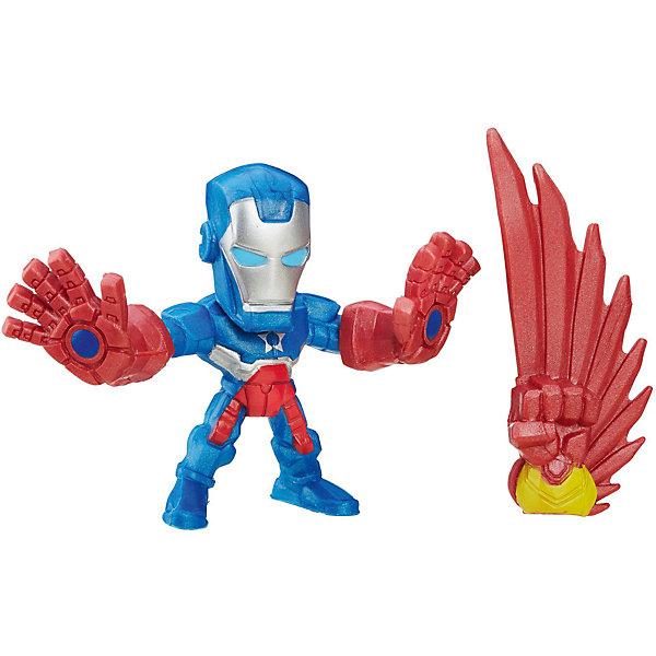 Микро-фигурка Hasbro Marvel Super Hero Mashers, Железный Патриот 5 смГерои комиксов<br>Характеристики товара:<br><br>• возраст: от 4 лет;<br>• материал: пластик;<br>• в комплекте: фигурка, дополнительная деталь;<br>• высота фигурки: 5 см;<br>• размер упаковки: 17,7х13,9х3,7 см;<br>• вес упаковки: 86 гр.;<br>• страна производитель: Китай.<br><br>Микро-фигурка Марвел Hero Mashers Hasbro представляет собой одного из персонажей известных комиксов Марвел. В наборе представлена дополнительная деталь для героя, присоединив которую, получится совершенно новый персонаж со своими боевыми возможностями. Благодаря универсальным креплениям все детали серии совместимы между собой, что позволит их комбинировать и создавать все новых и новых супергероев.<br><br>Микро-фигурку Марвел Hero Mashers Hasbro можно приобрести в нашем интернет-магазине.<br><br>Ширина мм: 37<br>Глубина мм: 139<br>Высота мм: 177<br>Вес г: 86<br>Возраст от месяцев: 48<br>Возраст до месяцев: 96<br>Пол: Мужской<br>Возраст: Детский<br>SKU: 7144827