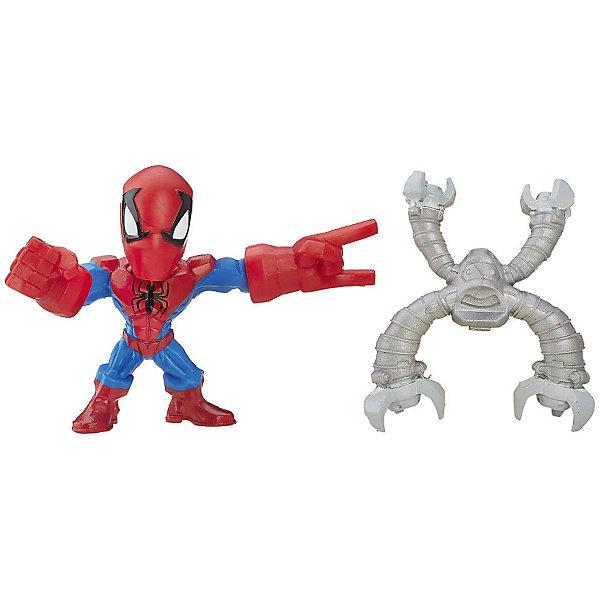 Купить Микро-фигурка Hasbro Marvel Super Hero Mashers , Человек-Паук 5 см, Вьетнам, Мужской