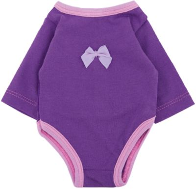 КАРАПУЗ Одежда для куклы Карапуз Боди , 40-42 см (розовое) фото-1