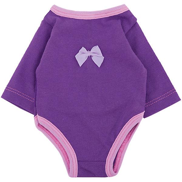 Одежда для куклы Карапуз Боди, 40-42 см (розовое)Одежда для кукол<br>Характеристики:<br><br>• возраст: от 3 лет<br>• в наборе: боди<br>• материал: трикотаж<br>• высота куклы: 40-42 см.<br><br>Комплект одежды отлично подойдёт для куклы торговой марки «Карапуз» высотой 40 - 42 сантиметра и сделает сюжетно-ролевые игры малышки более веселыми и разнообразными.<br><br>Наряд представлен боди с длинными рукавами, сшитым из трикотажного текстиля розового цвета. На груди боди украшено аппликацией.<br><br>Комплект изготовлен из приятного на ощупь качественного материала.<br><br>Комплект одежды для куклы Карапуз 40-42см, боди (трикотаж) можно купить в нашем интернет-магазине.<br>Ширина мм: 280; Глубина мм: 30; Высота мм: 370; Вес г: 50; Возраст от месяцев: 36; Возраст до месяцев: 84; Пол: Женский; Возраст: Детский; SKU: 7168157;