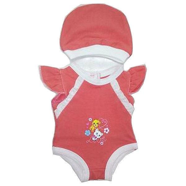 Одежда для куклы Карапуз Боди с шапочкой, 40-42 смОдежда для кукол<br>Характеристики:<br><br>• возраст: от 3 лет<br>• в наборе: боди, шапочка<br>• материал: текстиль<br>• высота куклы: 40-42 см.<br><br>Комплект одежды отлично подойдёт для куклы торговой марки «Карапуз» высотой 40 - 42 сантиметра и сделает сюжетно-ролевые игры малышки более веселыми и разнообразными.<br><br>Наряд представлен боди, украшенного рюшами и декоративной вышивкой на груди с изображением очаровательного щеночка и котёнка, и шапочкой в тон.<br><br>Комплект изготовлен из приятного на ощупь качественного материала, все швы аккуратно обработаны.<br><br>Комплект одежды для куклы Карапуз 40-42см, боди с шапочкой можно купить в нашем интернет-магазине.<br><br>Ширина мм: 280<br>Глубина мм: 3<br>Высота мм: 370<br>Вес г: 50<br>Возраст от месяцев: 36<br>Возраст до месяцев: 84<br>Пол: Женский<br>Возраст: Детский<br>SKU: 7168160