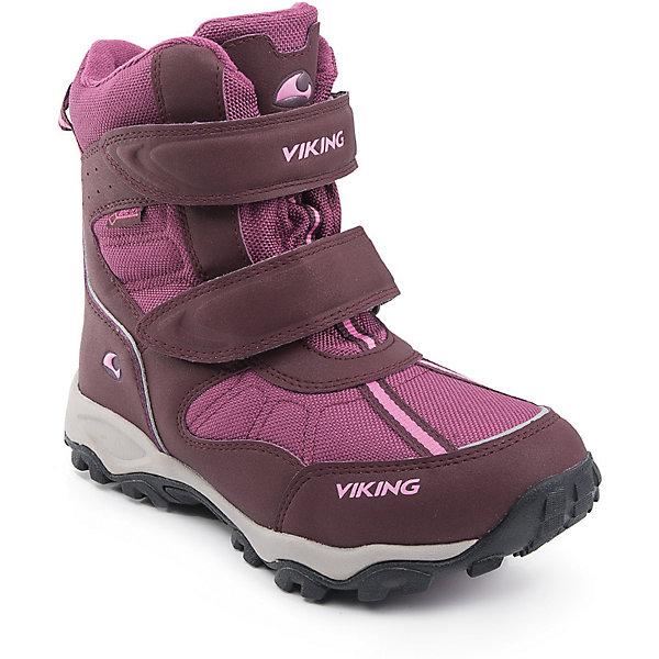 Купить Ботинки Bluster II GTX Viking для девочки, Вьетнам, розовый, 30, 31, 41, 40, 39, 38, 37, 36, 35, 34, 33, 32, 29, 28, Женский