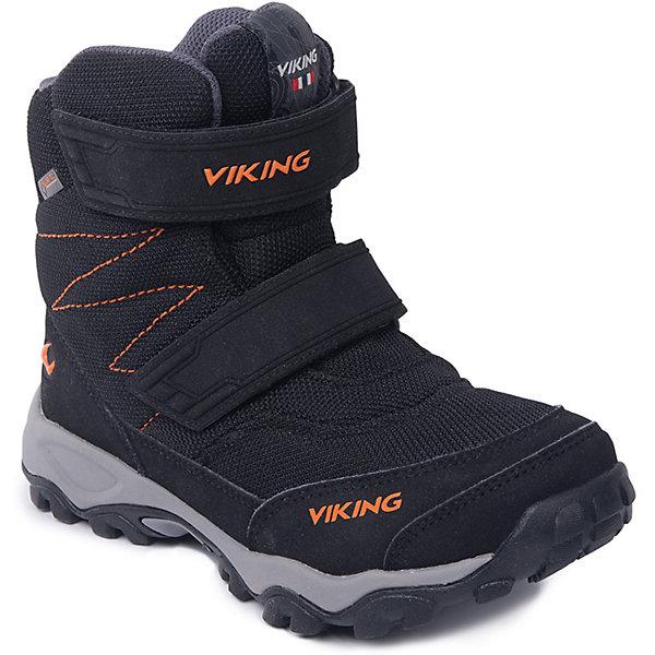 Ботинки Bifrost III GTX Viking для мальчикаБотинки<br>Характеристики товара:<br><br>• цвет: черный<br>• внешний материал: искусственная кожа, текстиль<br>• внутренний материал: полиэстер<br>• стелька: полиэстер<br>• подошва: натуральная резина<br>• сезон: зима<br>• мембранные <br>• температурный режим: от -25 до +5<br>• особенности модели: спортивный стиль<br>• застежка: липучки<br>• защита мыса <br>• подошва не скользит<br>• анатомические<br>• высокие<br>• страна бренда: Норвегия<br>• страна изготовитель: Вьетнам<br><br>Прочные мембранные ботинки Viking сделаны по новейшей технологии, обеспечивающей их высокое качество и износостойкость. Мембранные ботинки для детей помогут обеспечить ногам тепло и сухость в холода. Эти детские ботинки от Viking обработаны специальным составом, предотвращающим попадание влаги и грязи внутрь. Детские ботинки отличаются легкими материалами.<br><br>Ботинки Bifrost III GTX Viking (Викинг) для мальчика можно купить в нашем интернет-магазине.<br>Ширина мм: 262; Глубина мм: 176; Высота мм: 97; Вес г: 427; Цвет: черный; Возраст от месяцев: 48; Возраст до месяцев: 60; Пол: Мужской; Возраст: Детский; Размер: 28,41,40,39,38,37,36,35,34,33,32,31,30,29; SKU: 7168991;