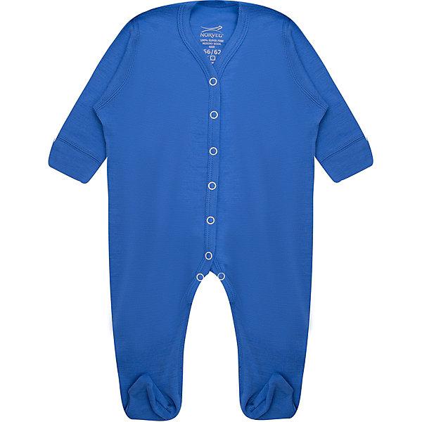 Комбинезон Norveg для мальчикаКомбинезоны<br>Характеристики товара:<br><br>• цвет: голубой<br>• состав ткани: 100% шерсть мериносов<br>• подкладка: нет<br>• сезон: демисезон<br>• температурный режим: от -20 до +20<br>• застежка: кнопки<br>• длинные рукава<br>• страна бренда: Германия<br>• страна изготовитель: Германия<br><br>Детский комбинезон помогает предотвратить замерзание ребенка на улице или создать комфорт дома. Материал такого комбинезона для детей позволяет коже дышать и впитывает лишнюю влагу. Натуральная ткань термокомбинезона Norveg Soft Overall приятна на ощупь. <br><br>Комбинезон Norveg (Норвег) можно купить в нашем интернет-магазине.<br><br>Ширина мм: 356<br>Глубина мм: 10<br>Высота мм: 245<br>Вес г: 519<br>Цвет: голубой<br>Возраст от месяцев: 0<br>Возраст до месяцев: 3<br>Пол: Мужской<br>Возраст: Детский<br>Размер: 56/62,80/86,68/74<br>SKU: 7169625