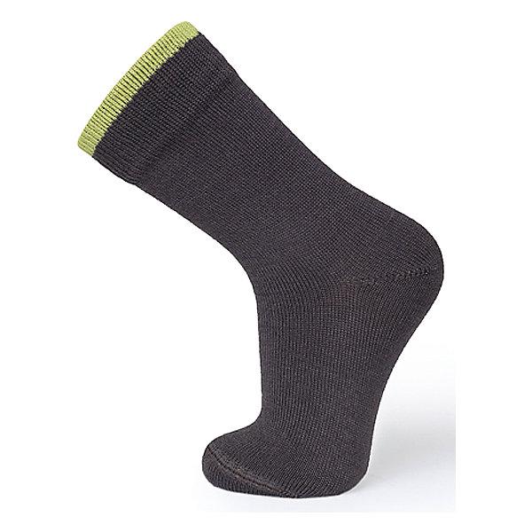 Носки Norveg Dry FeetНоски<br>Характеристики товара:<br><br>• цвет: коричневый<br>• состав ткани: 60% шерсть мериносов, 37% поликолон, 3% лайкра<br>• подкладка: нет<br>• сезон: зима<br>• температурный режим: от -20 до +5<br>• страна бренда: Германия<br>• страна изготовитель: Германия<br><br>Теплые термоноски для детей из серии Dry Feet - удобная вещь для создания ребенку комфортных условий. Термоноски для ребенка сделаны изшерстяной ткани с добавлением эластана, мягкие и приятные на ощупь. Детские термоноски легко стираются, не линяют и не садятся. <br><br>Носки Norveg (Норвег) можно купить в нашем интернет-магазине.<br>Ширина мм: 87; Глубина мм: 10; Высота мм: 105; Вес г: 115; Цвет: коричневый; Возраст от месяцев: 156; Возраст до месяцев: 1188; Пол: Унисекс; Возраст: Детский; Размер: 35-38,23-26,27-30,31-34; SKU: 7169681;