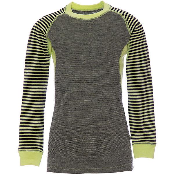 Футболка с длинным рукавом Norveg для девочкиФутболки с длинным рукавом<br>Характеристики товара:<br><br>• цвет: зеленый<br>• состав ткани: 100% шерсть мериносов<br>• подкладка: нет<br>• сезон: демисезон<br>• температурный режим: от -20 до +15<br>• длинные рукава<br>• страна бренда: Германия<br>• страна изготовитель: Германия<br><br>Стильный детский лонгслив поможет защитить ребенка от замерзания или перегреве в морозы до - 20 градусов. Материал детской термофутболки - натуральная шерсть мериносов, гипоаллергенная и дышащая. Мягкая легкая ткань приятна на ощупь. <br><br>Лонгслив Norveg (Норвег) можно купить в нашем интернет-магазине.<br>Ширина мм: 199; Глубина мм: 10; Высота мм: 161; Вес г: 151; Цвет: зеленый; Возраст от месяцев: 72; Возраст до месяцев: 84; Пол: Женский; Возраст: Детский; Размер: 116/122,164/170,152/158,140/146,128/134; SKU: 7169710;