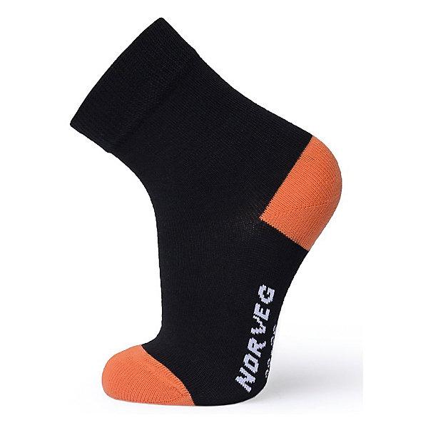 Носки NorvegНоски<br>Характеристики товара:<br><br>• цвет: оранжевый<br>• состав ткани: 98% хлопок, 2% эластан<br>• подкладка: нет<br>• сезон: лето<br>• температурный режим: от +5 до +25<br>• страна бренда: Германия<br>• страна изготовитель: Германия<br><br>Легкие удобные детские носки помогают создать комфорт ребенку. Материал таких термоносков для детей позволяет коже дышать и впитывает лишнюю влагу. Качественная натуральная ткань детских носков приятна на ощупь. <br><br>Носки Norveg (Норвег) можно купить в нашем интернет-магазине.<br>Ширина мм: 87; Глубина мм: 10; Высота мм: 105; Вес г: 115; Цвет: черный; Возраст от месяцев: 24; Возраст до месяцев: 36; Пол: Унисекс; Возраст: Детский; Размер: 23-26,27-30,31-34; SKU: 7170104;