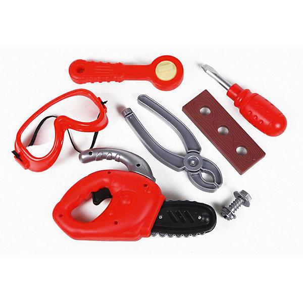Набор инструментов Yako Toys Набор маленького строителяНаборы инструментов<br>Характеристики товара:<br><br>• возраст: от 3 лет;<br>• размер игрушки: 22х32х6 см.;<br>• состав: пластик;<br>• вес упаковки: 850 гр.;<br>• упаковка: чемоданчик;<br>• бренд, страна: Yako Toys, Китай;<br>• страна-производитель: Китай.<br><br>Игровой набор «Маленький строитель» от торговой марки  Yako Toys - это комплект всевозможных инструментов, с которыми мальчик представит себя маленьким строителем и попробует починить игрушки или что-то по дому. Все предметы набора отличаются реалистичным дизайном, а их ассортимент поможет устранить любую поломку.<br><br>Игрушки от бренда от Yako Toys отличаются яркостью цвета, который со временем не тускнее и выполненны из высокачественного гипоаллергенного материала безвредного для детского здоровья.<br><br>Сюжетно-ролевые игры помогают детям развивать воображение, образное мышление, логику, а также увеличивать словарный запас.<br><br>Количество и ассортимент строительных инструментов в чемоданчике показаны на фотографиях к настоящему описанию.<br><br>Игровой набор «Маленький строитель», Yako Toys (Яко Тойз)  можно купить в нашем интернет-магазине.<br><br>Ширина мм: 300<br>Глубина мм: 260<br>Высота мм: 60<br>Вес г: 850<br>Возраст от месяцев: 36<br>Возраст до месяцев: 60<br>Пол: Мужской<br>Возраст: Детский<br>SKU: 7172260