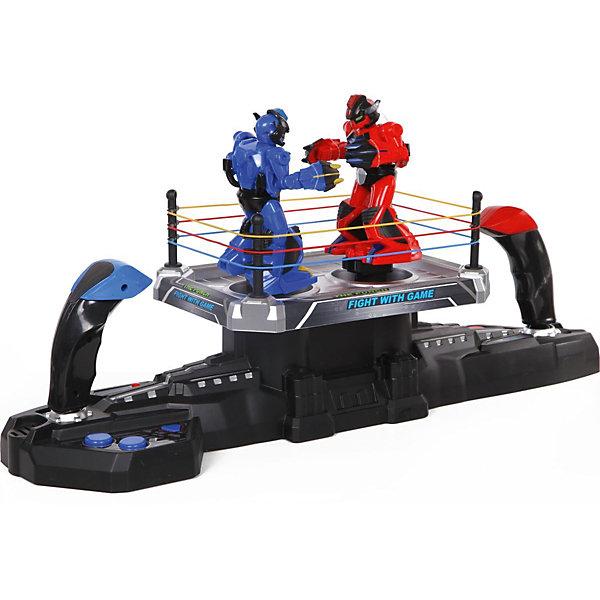 Роботы на радиоуправлении Yako Toys, Бой на арене (красный/синий)Роботы<br>Характеристики товара:<br><br>• возраст: от 3 лет;<br>• размер игрушки: 14х54х35 см.;<br>• комплект: 2 робота, ринг, пульт управления, 4 стойки для ограждения ринга, 3 резинки;<br>• тип батареек для робота:  ААх5 (нет в комплекте);<br>• состав: пластмасса, металл;<br>• вес упаковки: 2,3 кг.;<br>• упаковка: коробка блистерного типа;<br>• бренд, страна: Yako Toys, Китай;<br>• страна-производитель: Китай.<br><br>Игровой набор роботов на радиоуправлении от торговой марки  Yako Toys представляет собой потрясающий набор из двух фигурок, выполненных в виде фантастических воинов, которые помогут ребенку придумать множество увлекательных приключенческих игр вместе со всвоими друзьями. <br><br>В коплект набора входит реалистичный ринг для боев. Ринг соединён с 2-мя рычагами управления с обеих сторон. Для начала нужно соединить 2 панели, после чего поместить на одну из них обоих роботов. Затем каждым роботом можно будет управлять при помощи специальных джойстиков. Кроме того, игровой процесс смогут отлично дополнить световые и звуковые эффекты.<br><br>Игрушки от бренда от Yako Toys отличаются яркостью цвета, который со временем не тускнее и выполнены из высокачественного материала безвредного для детского здоровья.<br><br>Сюжетно-ролевые игры помогают детям развивать воображение, образное мышление, логику, а также увеличивать словарный запас.<br><br>Игровой набор роботов на радиоуправлении, 2 шт., Yako Toys (Яко Тойз)  можно купить в нашем интернет-магазине.<br><br>Ширина мм: 540<br>Глубина мм: 140<br>Высота мм: 350<br>Вес г: 2300<br>Возраст от месяцев: 36<br>Возраст до месяцев: 72<br>Пол: Мужской<br>Возраст: Детский<br>SKU: 7172265