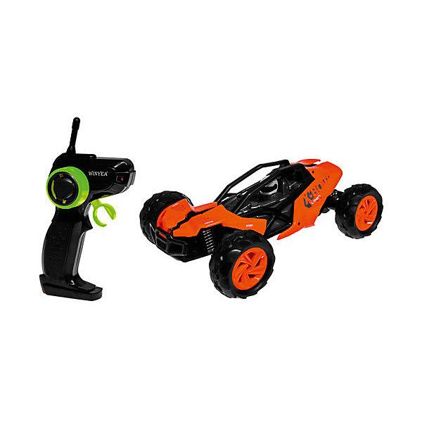 Радиоуправляемая машинка Yako Toys Speed BuggyРадиоуправляемые машины<br>Характеристики товара:<br><br>• возраст: от 5 лет;<br>• цвет: оранжевый;<br>• размер игрушки: 25х10х19 см.;<br>• комплект: машинка, пульт управления, аккумулятор, зарядное устройство;<br>• тип батареек для пульта: 4 x AA / LR6 1.5V (пальчиковые).<br>• наличие батареек для пульта: не входят в комплект;<br>• состав: пластик, металл;<br>• весв упаковке: 1 кг.;<br>• упаковка: картонная коробка блистерного типа;<br>• бренд, страна: Yako Toys, Китай;<br>• страна-производитель: Китай.<br><br>Машинка «Багги» на радиоуправлении от торговой марки  Yako Toys представляет собой крутой гоночный болид, изготовленнный из пластмассы с элементами металла. Колеса прорезинены, что позволяет машинке без проблем перемещаться по разным поверхностям. Машина выполнена в ярком и привлекательном дизайне. <br><br>При помощи такой машинки, которая управляется с помощью пульта, ребенок сможет устраивать гоночные соревнования прямо у себя в комнате. Машинка может двигаться вперед-назад и вправо-влево, при этом мигая фарами и создавая звуковые эффекты. В комплекте идет аккумулятор с зарядным устройством к нему.<br><br>Реалистичный дизайн и все функции игрушки приведут в восторг любого мальчика и поклонника автотранспорта.Игрушки от бренда от Yako Toys выполнены из высокачественного материала безвредного для детского здоровья.<br><br>Машинку «Багги» на радиоуправлении, цвет оранжевый, Yako Toys (Яко Тойз)  можно купить в нашем интернет-магазине.<br>Ширина мм: 400; Глубина мм: 200; Высота мм: 210; Вес г: 1500; Возраст от месяцев: 36; Возраст до месяцев: 72; Пол: Мужской; Возраст: Детский; SKU: 7172278;