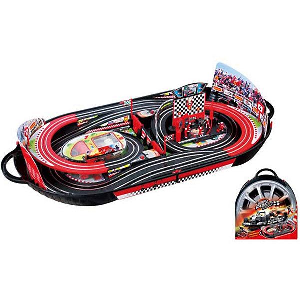 Автотрек Yako Toys Racing CircusАвтотреки<br>Характеристики товара:<br><br>• возраст: от 5 лет;<br>• комплект: трек, две машинки, аксессуары;<br>• размер трека: 45х100 см.;<br>• батарейки для двух машинок: 8 x AA / LR6 1.5V (не входят в комплект);<br>• состав: пластик, металл, резина;<br>• размер в упаковке: 45х50х42 см.;<br>• вес в упаковке: 2,7 кг.;<br>• упаковка: чемоданчик;<br>• бренд, страна: Yako Toys, Китай;<br>• страна-производитель: Китай.<br><br>Игровой набор «Автотрек в чемодане» представлет собой гоночный трек, изготовленнный из пластмассы с элементами металла и двух машинок, который обязательно понравится любителям гонок и машин. <br><br>Набор позволит собрать целый трек для проведения спортивных состязаний и позволит устраивать настоящие бои на машинах вместе с друзьями. Длинный и развитой трек выполнен довольно детально и в красочных цветах, чем обязательно привлечет к себе особое внимание ребенка.<br><br>Реалистичный дизайн и все функции игрушки приведут в восторг любого мальчика и поклонника автотранспорта.Игрушки от бренда от Yako Toys выполнены из высокачественного материала безвредного для детского здоровья.<br><br>Игровой набор «Автотрек в чемодане», 2 машинки, Yako Toys (Яко Тойз)  можно купить в нашем интернет-магазине.<br>Ширина мм: 430; Глубина мм: 100; Высота мм: 480; Вес г: 2700; Возраст от месяцев: 36; Возраст до месяцев: 72; Пол: Мужской; Возраст: Детский; SKU: 7172280;