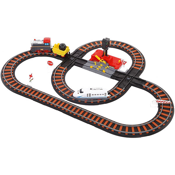 Железная дорога Yako Toys Останови крушение!, 2 перекрестка, механизм остановки, семафорЖелезные дороги<br>Характеристики товара:<br><br>• возраст: от 5 лет;<br>• комплект: железная дорога, поезд, паровоз, вагон, аксессуары, семафор;<br>• батарейки: 2 x AA / LR6 1.5V (не входят в комплект);<br>• состав: пластик, металл, резина;<br>• размер в упаковке: 21х30х17 см.;<br>• вес в упаковке: 1,5 кг.;<br>• упаковка: картонная коробка;<br>• бренд, страна: Yako Toys, Китай;<br>• страна-производитель: Китай.<br><br>Игровой набор «Железная дорога. Останови крушение» состоит из 2 путей и 3 разных видов железнодорожного транспорта, также в наборе 2 стрелки и механизм остановки семафором.<br><br>Поезда двигаются самостоятельно. Железная дорога работает на батарейках. Направление поездов может регулироваться посредством поворотников, расположенных на перекрестках путей.<br><br>Реалистичный дизайн и все функции набора приведут в восторг любого ребенка и поможет придумать множество увлекательных игр вместе с друзьями. Игрушки от бренда от Yako Toys выполнены из высокачественного материала безвредного для детского здоровья.<br><br>Игровой набор «Железная дорога. Останови крушение», два яруса, Yako Toys (Яко Тойз)  можно купить в нашем интернет-магазине.<br>Ширина мм: 210; Глубина мм: 300; Высота мм: 170; Вес г: 1500; Возраст от месяцев: 36; Возраст до месяцев: 72; Пол: Мужской; Возраст: Детский; SKU: 7172283;