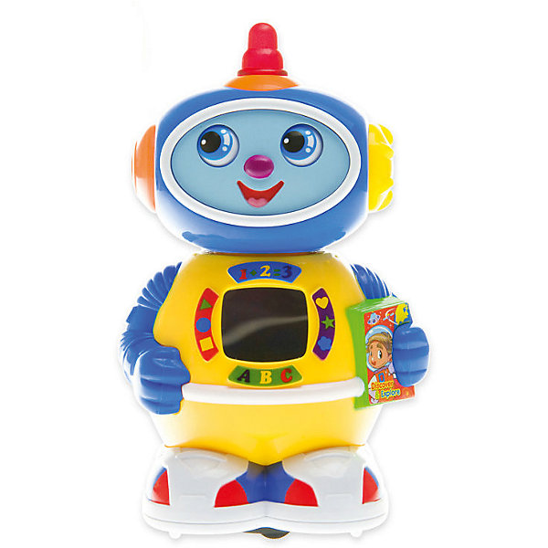 Интерактивная игрушка Huile Toys Робот. Космический докторРоботы<br>Забавный и функциональный космический робот-доктор непременно понравится каждому искателю приключений.Произвольное движение. Повороты головы, движение глаз. С музыкальными и световыми эффектами.Подсветка: мигание ламп по бокам головы, в антенне; картинка внутри зеркала на корпусе.Питание: 3*АА (нет в комплекте).<br><br>Ширина мм: 210<br>Глубина мм: 180<br>Высота мм: 170<br>Вес г: 450<br>Возраст от месяцев: 6<br>Возраст до месяцев: 18<br>Пол: Унисекс<br>Возраст: Детский<br>SKU: 7172293