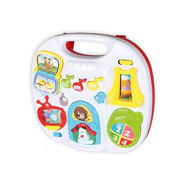 Музыкальный центр Bairun ЩенокДругие музыкальные инструменты<br>Характеристики товара:<br><br>• возраст: от 0 лет;<br>• размер игрушки: 38,5х28х9 см.;<br>• тип батареек: 3 x AA / LR16 1.5V (пальчиковые, нет в комплекте);<br>• состав: пластик;<br>• упаковка: картонная коробка блистерного типа;<br>• вес в упаковке: 1 кг.;<br>• бренд, страна: Bairun, Китай;<br>• страна-производитель: Китай.<br><br>Музыкальный центр для малышей «Щенок» предназначен специально для самых маленьких детей, которые начинают проявлять интерес к музыке уже с самого раннего возраста. <br><br>Центр оснащен большим количеством различных кнопок, нажимая на которые, малыш сможет послушать забавные мелодии. Подобная игрушка оснащена различными световыми и звуковыми эффектами, с которыми игровой процесс станет очень увлекательным и интересным.<br><br>Установить данный центр можно будет на специальные ножки. Изготовлена игрушка из качественного пластика, который абсолютно безопасен для здоровья детей.<br><br>Музыкальный центр для малышей «Щенок» Bairun  можно купить в нашем интернет-магазине.<br><br>Ширина мм: 390<br>Глубина мм: 270<br>Высота мм: 90<br>Вес г: 1000<br>Возраст от месяцев: 18<br>Возраст до месяцев: 36<br>Пол: Унисекс<br>Возраст: Детский<br>SKU: 7172299