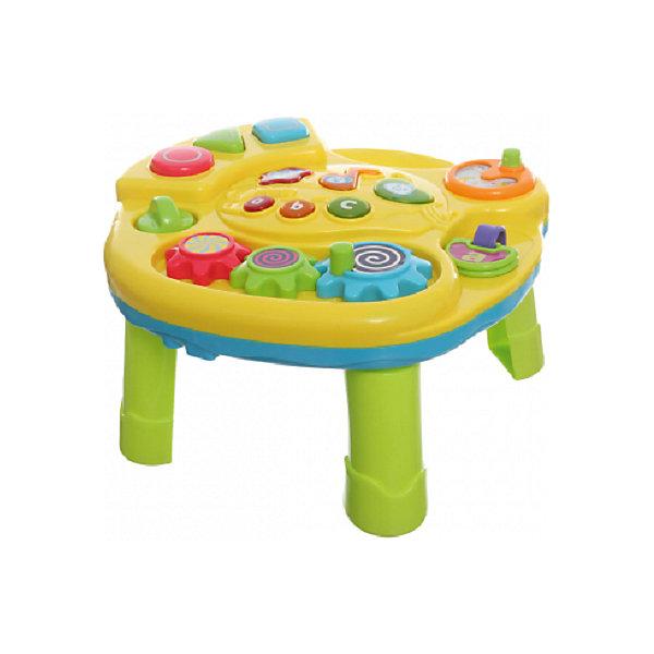Музыкальный центр BairunДругие музыкальные инструменты<br>Характеристики товара:<br><br>• возраст: от 0 лет;<br>• размер игрушки: 38,5х28х9 см.;<br>• тип батареек: 3 x AA / LR16 1.5V (пальчиковые, нет в комплекте);<br>• состав: пластик;<br>• упаковка: картонная коробка блистерного типа;<br>• вес в упаковке: 1 кг.;<br>• бренд, страна: Bairun, Китай;<br>• страна-производитель: Китай.<br><br>Музыкальный центр для малышей «Щенок» предназначен специально для самых маленьких детей, которые начинают проявлять интерес к музыке уже с самого раннего возраста. <br><br>Центр оснащен большим количеством различных кнопок, нажимая на которые, малыш сможет послушать забавные мелодии. Подобная игрушка оснащена различными световыми и звуковыми эффектами, с которыми игровой процесс станет очень увлекательным и интересным.<br><br>Установить данный центр можно будет на специальные ножки. Изготовлена игрушка из качественного пластика, который абсолютно безопасен для здоровья детей.<br><br>Музыкальный центр для малышей «Щенок» Bairun  можно купить в нашем интернет-магазине.<br>Ширина мм: 420; Глубина мм: 320; Высота мм: 70; Вес г: 1200; Возраст от месяцев: 18; Возраст до месяцев: 36; Пол: Унисекс; Возраст: Детский; SKU: 7172300;