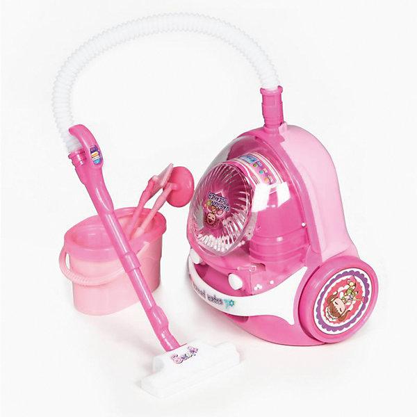 Набор для уборки Yako Toys, пылесос, ведроНаборы для уборки<br>Характеристики товара:<br><br>• возраст: от 3 лет;<br>• размер игрушки: 41х22х10 см.;<br>• состав: пластик;<br>• вес упаковки: 1,4 кг.;<br>• тип батареек: 7 x AA / LR16 1.5V (пальчиковые, нет в комплекте);<br>• упаковка: картонная коробка блистерного типа;<br>• бренд, страна: Yako Toys, Китай;<br>• страна-производитель: Китай.<br><br>Игровой набор «Бытовая техника» от торговой марки  Yako Toys - в данный набор входят пылесос, стиральная машинка с корзиной для белья и 3 вешалками, тостер с 2 тостами. Сопровождается световыми и звуковыми эффектами.<br><br>С такой техникой ваша малышка станет идеальной хозяйкой. Сюжетно-ролевые игры помогают детям развивать воображение, образное мышление, логику, а также увеличивать словарный запас.<br><br>Игрушки от бренда от Yako Toys отличаются яркостью цвета, который со временем не тускнее и выполненны из высокачественного гипоаллергенного материала безвредного для детского здоровья.<br><br>Игровой набор «Бытовая техника», Yako Toys (Яко Тойз)  можно купить в нашем интернет-магазине.<br>Ширина мм: 200; Глубина мм: 220; Высота мм: 100; Вес г: 450; Возраст от месяцев: 36; Возраст до месяцев: 72; Пол: Женский; Возраст: Детский; SKU: 7172302;