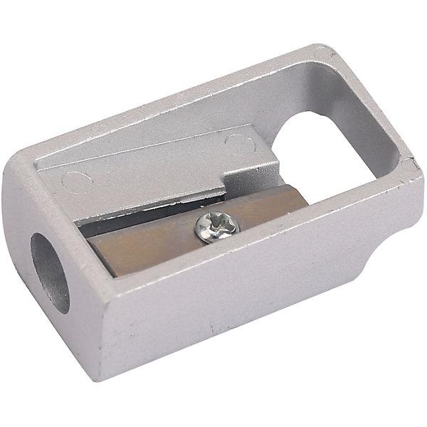 Точилка для карандашей Deli, 1 отверстиеТочилки<br>Характеристики товара:<br><br>• точилка для карандашей диаметром до 8 мм.;<br>• лезвие с лазерной заточкой<br>• цинковый сплав<br>• размер:4х3х1,5 см.<br><br>Точилку для карандашей ручная Deli E0595 можно купить в нашем интернет-магазине.<br>Ширина мм: 36; Глубина мм: 29; Высота мм: 15; Вес г: 70; Возраст от месяцев: 36; Возраст до месяцев: 144; Пол: Унисекс; Возраст: Детский; SKU: 7179065;