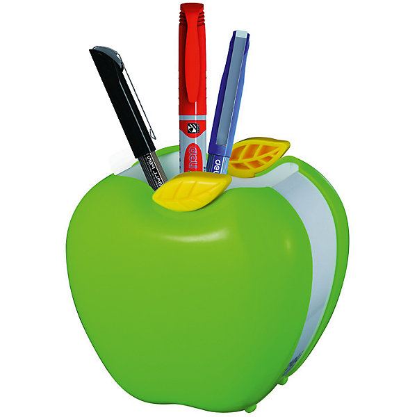 Подставка для пишущих принадлежностей Deli Яблоко, в ассортиментеШкольные аксессуары<br>Характеристики товара:<br><br>•цвет в ассортименте;<br>• материал: пластик;<br>• размер: 9х8х9 см;<br><br>Подставку Deli E9139 Яблоко для пишущих принадлежностей ассорти пластик можно купить в нашем интернет-магазине.<br><br>Ширина мм: 91<br>Глубина мм: 79<br>Высота мм: 88<br>Вес г: 90<br>Возраст от месяцев: 36<br>Возраст до месяцев: 144<br>Пол: Унисекс<br>Возраст: Детский<br>SKU: 7179073