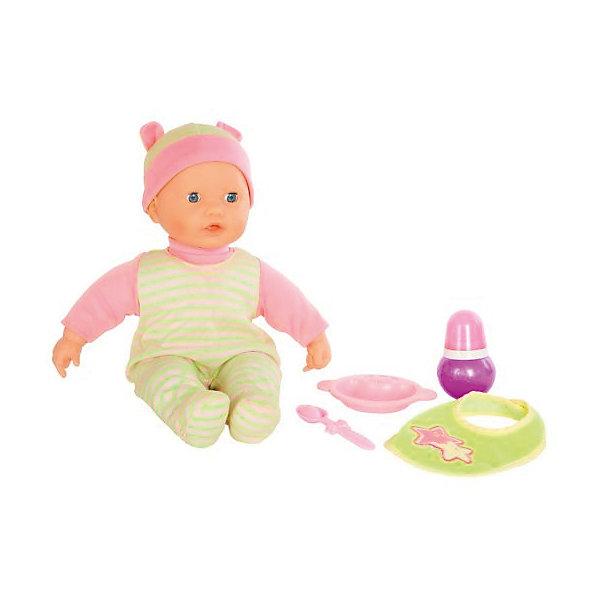 Интерактиная кукла Mary Poppins Настя. Полезный завтрак, 36 см звукКуклы<br>Характеристики товара:<br><br>• возраст: от 3 лет;                                                                                                                                                                                                   • пол: для девочек;<br>• комплект: кукла, бутылочка, нагрудник, тарелка, ложка;<br>• наличие батареек: входят в комплект;<br>• тип батареек: 3хAA/LR6 1.5V пальчиковые;<br>• из чего сделана игрушка (состав): ПВХ, пластик, текстиль, металл;<br>• размер упаковки: 37х14х28 см.;<br>• упаковка: картонная коробка блистерного типа;<br>• высота куклы: 36 см.;<br>• вес: 980 гр.;<br>• торговая марка: Mary Poppins.<br><br>Интерактивная кукла Настя от торговой марки Mary Poppins может говорить несколько фраз, например: «Мама, я хочу пить!», «Ням-ням, ой как вкусно!» и другие.<br><br>В комплекте с игрушкой идет бутылочка для кормления, нагрудник, тарелка и ложка.<br>Аксессуары выполнены из пластика, а сама куколка из эластичного ПВХ. При этом Настя одета в текстильный костюм приятных оттенков, состоящий из шапочки и комбинезона.<br><br>Интерактивную куклу можно купить в нашем интернет-магазине.<br><br>Ширина мм: 280<br>Глубина мм: 140<br>Высота мм: 370<br>Вес г: 980<br>Возраст от месяцев: 36<br>Возраст до месяцев: 2147483647<br>Пол: Женский<br>Возраст: Детский<br>SKU: 7182128