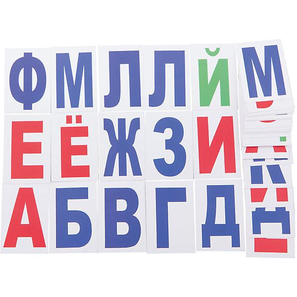 Набор обучающих карточек Вундеркинд с пелёнок Буквы, 48 штукОбучающие карточки<br>Комплект содержит 48 карточек - это все буквы русского алфавита плюс добавочные буквы А, Б, В, Г, Д, Е, М, П, О, И, К, Л, Н, Р, С которые позволят вашему малышу не только освоить алфавит, но и научиться составлять слоги, простые слова и словосочетания.<br><br>Ширина мм: 90<br>Глубина мм: 55<br>Высота мм: 20<br>Вес г: 70<br>Возраст от месяцев: 36<br>Возраст до месяцев: 84<br>Пол: Унисекс<br>Возраст: Детский<br>SKU: 7182414