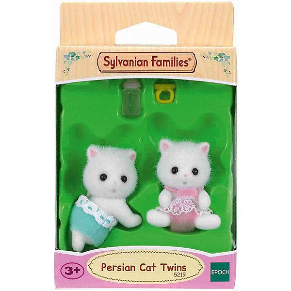 Игровой набор Epoch Sylvanian Families Персидские котята-двойняшкиSylvanian Families<br>Характеристики:<br><br>• возраст: от 3 лет;<br>• в наборе: 2 фигурки котят, пустышка, бутылочка;<br>• материал: пластик, флок, текстиль;<br>• размер упаковки: 12х8х4 см.;<br>• упаковка: картонная коробка блистерного типа;<br>• высота фигурок: 4 см.;<br>• страна обладатель бренда: Япония.<br><br>Набор Sylvanian Families от производителя Epoch - это 2 фигурки очаровательных котят. Сосочка-пустышка и бутылочка для кормления сделают игру еще интересней. Игрушки станут отличным дополнением к различным игровым сюжетам, но также могут послужить декоративным элементом в детской комнате. <br><br>Фигурки изготовлены из высококачественных материалов и будут абсолютно безопасны для маленького ребенка.<br><br>Набор Персидские котята-двойняшки можно купить в нашем интернет-магазине.<br><br>Ширина мм: 120<br>Глубина мм: 220<br>Высота мм: 100<br>Вес г: 24<br>Возраст от месяцев: 36<br>Возраст до месяцев: 144<br>Пол: Женский<br>Возраст: Детский<br>SKU: 7184908