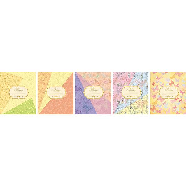 Комплект тетрадей в клетку АппликА Паттерн 5 шт, 48 листов с полямиБумажная продукция<br>Характеристики товара:<br><br>• количество тетрадей: 5;<br>• количество листов: 48;<br>• формат: А5;<br>• возраст: от 3 лет;<br>• материал: бумага, офсет;<br>• обложка: целлюлозный картон;<br>• размер упаковки: 20х16х2,5 см;<br>• страна-производитель: Россия. <br><br>В набор «Ассорти Паттерн» входят пять общих тетрадей, состоящих из 48 листов. Листы выполнены из высококачественной, плотной офсетной бумаги. Линовка в стандартную клетку, есть поля. Обложка изготовлена из целлюлозного картона с выборочными УФ лаковыми вставками и блестками. Обложки выполнены в простом стиле в различных вариантах.<br><br>Комплект общих тетрадей в клетку из 5шт., Ассорти Паттерн  - 48 листов формата А5 с полями, КТС-ПРО можно купить в нашем интернет-магазине.<br>Ширина мм: 200; Глубина мм: 160; Высота мм: 25; Вес г: 595; Возраст от месяцев: 36; Возраст до месяцев: 1188; Пол: Унисекс; Возраст: Детский; SKU: 7185407;