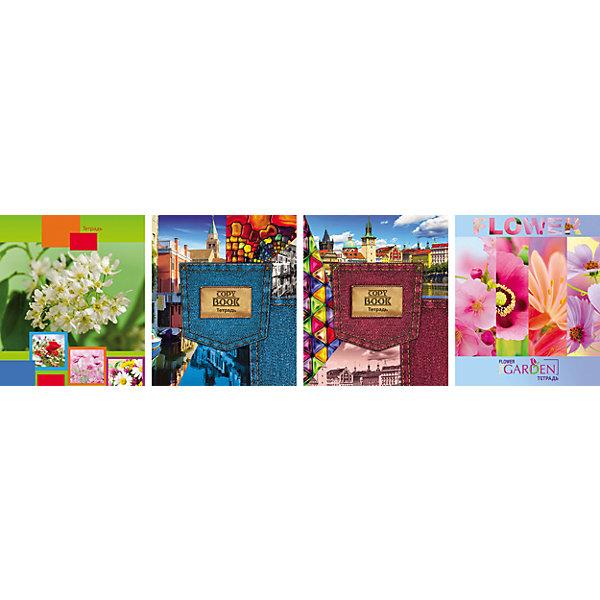 Комплект тетрадей в линейку АппликА Твой стиль-1 5 шт, 48 листовБумажная продукция<br>Характеристики товара:<br><br>• количество тетрадей: 5;<br>• количество листов: 48;<br>• формат: А5;<br>• возраст: от 3 лет;<br>• материал: бумага, офсет;<br>• обложка: мелованный картон;<br>• размер упаковки: 20х16х2,5 см;<br>• страна-производитель: Россия. <br><br>Набор тетрадей «Ассорти Твой стиль» содержит 5 общих тетрадей с линовкой в линию. По краям страниц предусмотрены красные поля. Внутренний блок изготовлен из качественной офсетной бумаги и закреплен  с обложкой при помощи металлических скоб. Обложка выполнена из плотного мелованного картона, защищающего содержимое тетрадей от быстрого изнашивания.<br><br>Комплект общих тетрадей в линейку из 5шт., Ассорти Твой стиль-1 - 48 листов формата А5, КТС-ПРО можно купить в нашем интернет-магазине.<br><br>Ширина мм: 200<br>Глубина мм: 165<br>Высота мм: 25<br>Вес г: 500<br>Возраст от месяцев: 36<br>Возраст до месяцев: 1188<br>Пол: Женский<br>Возраст: Детский<br>SKU: 7185413