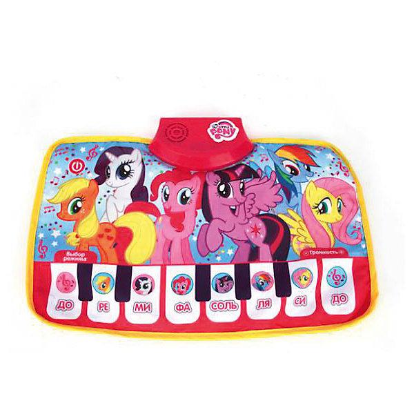 Музыкальный коврик-пианино Умка My little ponyПианино<br>Характеристики товара:<br><br>• возраст: от 3 лет;<br>• вес: 230 гр.;<br>• тип батареек: 3xAAA/LR0.3 1.5V мизинчиковые;<br>• наличие батареек: не входят в комплект;<br>• из чего сделана игрушка (состав): пластик, текстиль;<br>• размер упаковки: 30х4х30 см.;<br>• упаковка: картонная коробка;<br>• страна обладатель бренда: Россия.<br><br>Музыкальный коврик-пианино  поможет ребенку выучить названия и звучание нот в форме интересной игры. <br><br>При нажатии на белые клавиши ногой или рукой, раздается характерное для той или иной ноты звучание. Яркое и красочное пианино украшено изображениями героев из мультипликационного сериала дружба - это чудо.<br><br>Музыкальный коврик пианино можно купить в нашем интернет магазине.<br><br>Ширина мм: 30<br>Глубина мм: 4<br>Высота мм: 30<br>Вес г: 230<br>Возраст от месяцев: 36<br>Возраст до месяцев: 84<br>Пол: Унисекс<br>Возраст: Детский<br>SKU: 7185697