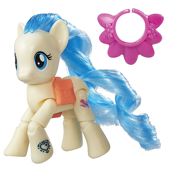 Игровой набор Hasbro My little Pony Пони с артикуляцией, Мисс ПоммэлФигурки из мультфильмов<br><br><br>Ширина мм: 48<br>Глубина мм: 178<br>Высота мм: 184<br>Вес г: 136<br>Возраст от месяцев: 48<br>Возраст до месяцев: 72<br>Пол: Женский<br>Возраст: Детский<br>SKU: 7186015
