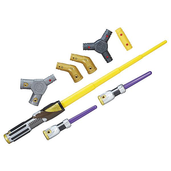 Световой меч джедая Hasbro Star Wars Эпизод 8Игрушечные мечи и щиты<br>Характеристики товара:<br><br>• возраст: от 4 лет;<br>• материал: пластик;<br>• в комплекте: меч, аксессуары;<br>• размер упаковки: 43,2х34,3х6,4 см;<br>• вес упаковки: 700 гр.;<br>• страна производитель: Китай.<br><br>Световой меч Star Wars Hasbro — настоящий световой меч джедаев из известной космической саги «Звездные войны». Он позволит почувствовать себя настоящим воином. Одним простым движением и нажатием кнопки меч выдвигается и готов к битве. Меч совместим и с другими мечами новой коллекции.<br><br>Световой меч Star Wars Hasbro можно приобрести в нашем интернет-магазине.<br><br>Ширина мм: 64<br>Глубина мм: 432<br>Высота мм: 343<br>Вес г: 700<br>Возраст от месяцев: 48<br>Возраст до месяцев: 2147483647<br>Пол: Мужской<br>Возраст: Детский<br>SKU: 7186017