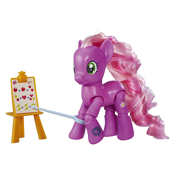 Игровой набор Hasbro My little Pony Пони с артикуляцией, ЧирайлиИгровые фигурки животных<br>Характеристики товара:<br><br>• возраст: от 4 лет;<br>• материал: пластик;<br>• в комплекте: фигурка пони, аксессуары;<br>• размер упаковки: 17,8х18,4х4,8 см;<br>• вес упаковки: 136 гр.;<br>• страна производитель: Китай.<br><br>Фигурка пони с артикуляцией My Little Pony создана по мотивам известного мультсериала про очаровательных разноцветных пони. Она представляет собой одну из героинь мультфильма. У пони несколько точек артикуляции, у нее сгибаются ноги, она может даже садиться. Помимо этого, у пони разноцветная мягкая грива, которую можно расчесывать и украшать. Фигурка изготовлена из качественного пластика. <br><br>Фигурку пони с артикуляцией My Little Pony можно приобрести в нашем интернет-магазине.<br>Ширина мм: 48; Глубина мм: 178; Высота мм: 184; Вес г: 136; Возраст от месяцев: 48; Возраст до месяцев: 72; Пол: Женский; Возраст: Детский; SKU: 7186019;
