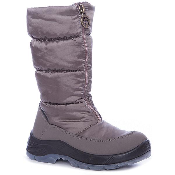 Сапоги Alaska Originale для девочкиДутики<br>Характеристики товара:<br><br>• цвет: бежевый<br>• внешний материал: текстиль<br>• внутренний материал: экомех<br>• стелька: экомех<br>• подошва: термополиуретан<br>• сезон: зима<br>• мембранные<br>• водонепроницаемая пропитка верха<br>• температурный режим: от -30 до -5<br>• защита мыса<br>• подошва не скользит<br>• застежка: молния<br>• анатомические <br>• страна бренда: Италия<br>• страна изготовитель: Румыния<br><br>Зимние детские сапоги имеют не только стильный проработанный дизайн, но и отлично подходят даже для сильных морозов. Теплая детская обувь от итальянского бренда Alaska Originale высокотехнологичная и стильная. Детская мембранная обувь позволяет воздуху свободно циркулировать, при этом такие сапоги для девочки призваны защитить ноги от ветра, холода и влаги. <br><br>Сапоги Alaska Originale (Аляска Ориджинал) для девочки можно купить в нашем интернет-магазине.<br>Ширина мм: 257; Глубина мм: 180; Высота мм: 130; Вес г: 420; Цвет: бежевый; Возраст от месяцев: 48; Возраст до месяцев: 60; Пол: Женский; Возраст: Детский; Размер: 28; SKU: 7187739;