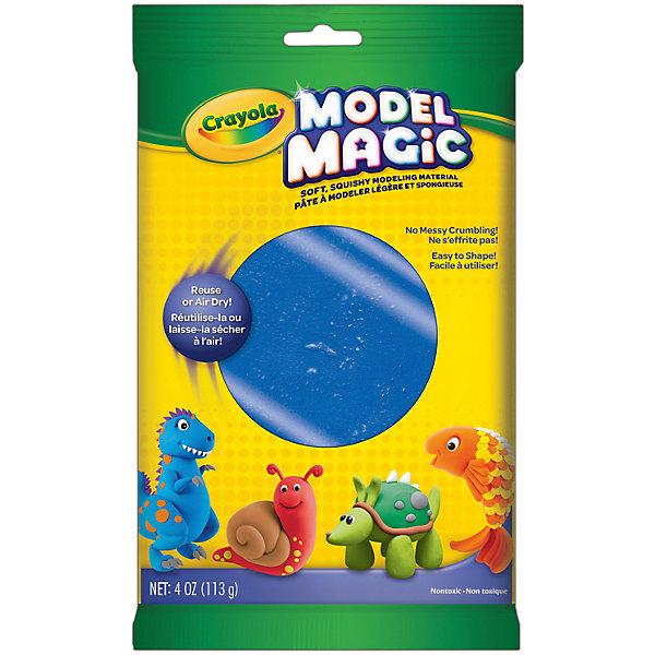 Застывающий пластилин Crayola Model Magic, синий 113 грМасса для лепки<br>Характеристики товара:<br><br>• возраст: от 4 лет;<br>• упаковка: пакет;<br>• размеры упаковки - 23х14х4 см.;<br>• вес упаковки: 120 гр.; <br>• состав: пластилин;<br>• цвет: синий;<br>• бренд: Crayola (Крайола);<br>• страна-производитель: США.<br><br>Застывающий пластилин «Model Magic» для лепки синего цвета от американского производителя Crayola. <br><br>Из данного пластилина можно слепить всевозможные фигурки, тщательно выделывая даже мелкие элементы. Масса имеет способность застывать на открытом воздухе в течение 1 суток, - в зависимости от толщины изделия. Это позволит в дальнейшем раскрасить фигурку, а затем играть с ней.<br><br>Игры с пластилином способствуют развитию мелкой моторики, координации движений, усидчивости, воображения и множеству других полезных навыков. <br><br>Товары для творчества от американского производителя Crayola изготовлены из безопасных для здоровья ребенка материалов, прошедших соответствие европейским стандартам качества. <br><br>Застывающий пластилин «Model Magic», синий, Crayola (Крайола) можно купить в нашем интернет-магазине.<br><br>Ширина мм: 40<br>Глубина мм: 140<br>Высота мм: 230<br>Вес г: 120<br>Возраст от месяцев: 48<br>Возраст до месяцев: 2147483647<br>Пол: Унисекс<br>Возраст: Детский<br>SKU: 7187852