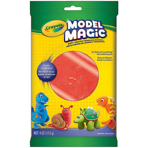 Застывающий пластилин Crayola Model Magic, красный 113 грМасса для лепки<br>Характеристики товара:<br><br>• возраст: от 4 лет;<br>• упаковка: пакет;<br>• размеры упаковки - 23х14х4 см.;<br>• вес упаковки: 120 гр.; <br>• состав: пластилин;<br>• цвет: красный;<br>• бренд: Crayola (Крайола);<br>• страна-производитель: США.<br><br>Застывающий пластилин «Model Magic» для лепки красного цвета от американского производителя Crayola. <br><br>Из данного пластилина можно слепить всевозможные фигурки, тщательно выделывая даже мелкие элементы. Масса имеет способность застывать на открытом воздухе в течение 1 суток, - в зависимости от толщины изделия. Это позволит в дальнейшем раскрасить фигурку, а затем играть с ней.<br><br>Игры с пластилином способствуют развитию мелкой моторики, координации движений, усидчивости, воображения и множеству других полезных навыков. <br><br>Товары для творчества от американского производителя Crayola изготовлены из безопасных для здоровья ребенка материалов, прошедших соответствие европейским стандартам качества. <br><br>Застывающий пластилин «Model Magic», красный, Crayola (Крайола) можно купить в нашем интернет-магазине.<br><br>Ширина мм: 40<br>Глубина мм: 140<br>Высота мм: 230<br>Вес г: 120<br>Возраст от месяцев: 48<br>Возраст до месяцев: 2147483647<br>Пол: Унисекс<br>Возраст: Детский<br>SKU: 7187854