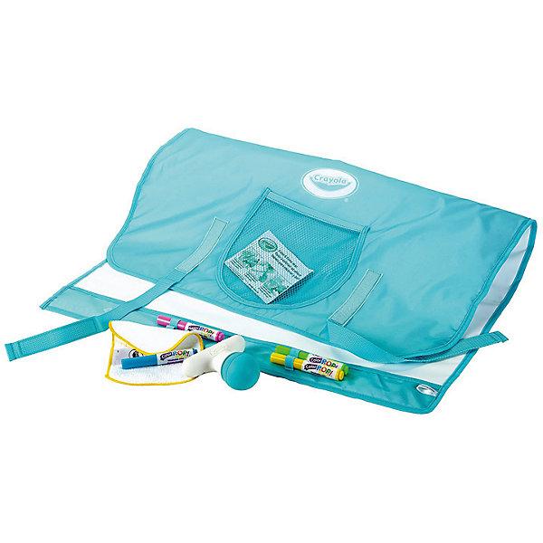 Коврик для рисования Crayola Color PopsКоврики и доски для рисования<br>Характеристики товара:<br><br>• возраст: от 4 лет;<br>• упаковка: картонная коробка;<br>• комплект: коврик, щетка;<br>• размеры упаковки: 60х60х90 см.;<br>• вес упаковки: 600 гр.; <br>• материал: резина, пластик, текстиль;<br>• размер коврика в разложенном виде: 60х90 см.;<br>• бренд: Crayola (Крайола);<br>• страна-производитель: США.<br><br>Коврик для рисования «Colour Pop» от американского производителя Crayola представляет собой большой белый лист с яркой окантовкой, на котором так легко выражать свою фантазию посредством цветных штрихов. Рисовать фломастерами на нем очень удобно, ведь картинки без труда стираются с помощью щеточки, входящей в набор.<br><br>Коврик привлекает компактными размерами, при необходимости он превращается в тонкую папку — ее можно взять с собой куда угодно. Для хранения щеточки предназначен полукруглый сетчатый кармашек, расположенный на лицевой стороне сложенного изделия.<br><br>Коврик для рисования «Colour Pop» позволит юному художнику творить в любое время и в любом месте.<br><br>Товары для творчества от американского производителя Crayola изготовлены из безопасных для здоровья ребенка материалов, прошедших соответствие европейским стандартам качества. <br><br>Коврик для рисования «Colour Pop», 60Х90 см., Crayola (Крайола) можно купить в нашем интернет-магазине.<br>Ширина мм: 73; Глубина мм: 171; Высота мм: 625; Вес г: 596; Возраст от месяцев: 48; Возраст до месяцев: 2147483647; Пол: Унисекс; Возраст: Детский; SKU: 7187859;
