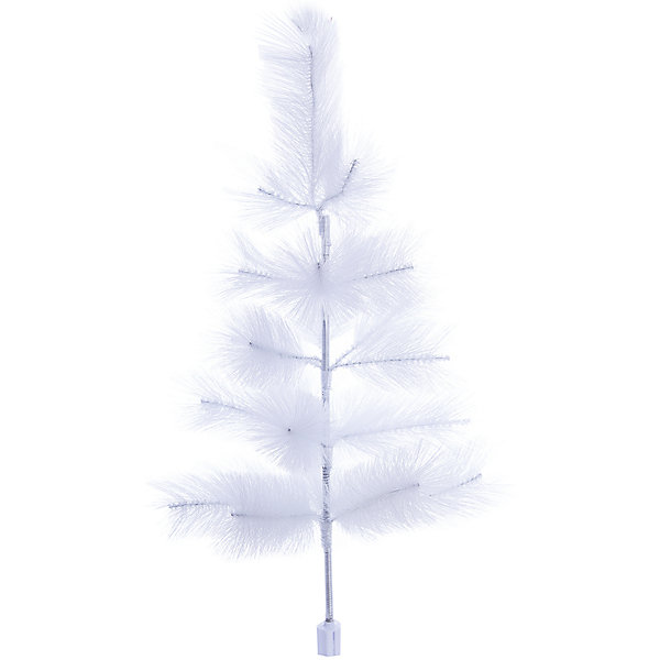 Искусственная елка Яркий праздник Белая, 60 смИскусственные ёлки<br>Характеристики:<br><br>• возраст: от 3 лет;<br>• цвет: белый;<br>• материал: ПВХ; <br>• размер: 40х40х60 см;<br>• вес: 400 гр;<br>• страна производитель: Китай;<br>• высота: 60 см;<br>• количество веток: 25;<br>• размер иголки: 10 см;<br>• тип упаковки: картонная коробка крафт.<br><br>Новогодняя ель «Белая» станет незаменимым атрибутом новогодних праздников. Искусственная елка отлично подойдет для семей с детьми – она легкая, безопасная и не менее красивая, чем настоящая. Праздничная красавица выполнена из ПВХ и имеет вес 400 граммов. На дереве расположено два вида иголок: из резины и мягкой пленки. Веточки с мягкими иголками придают визуальный объем, а резиновые иголочки делают елку более натуральной. Каждая иголочка имеет длину 10 см. <br><br>Необычная беля ель из искусственного материала изготовлена из 25 веток и имеет высоту всего 60 см. Новогоднее дерево очень быстро собирается – нужно лишь отогнуть веточки и распушить их. Прочная подставка надежно закрепляет ель с игрушками, не давая ей раскачиваться и гнуться. При установке искусственной елки очень важно обратить внимание на безопасность. Новогодняя искусственная ель «Белая» из ПВХ не пожароопасна. <br><br>Ель новогоднюю искусственную «Белая» из ПВХ можно купить в нашем интернет-магазине.<br>Ширина мм: 400; Глубина мм: 400; Высота мм: 600; Вес г: 400; Возраст от месяцев: 36; Возраст до месяцев: 2147483647; Пол: Унисекс; Возраст: Детский; SKU: 7187939;