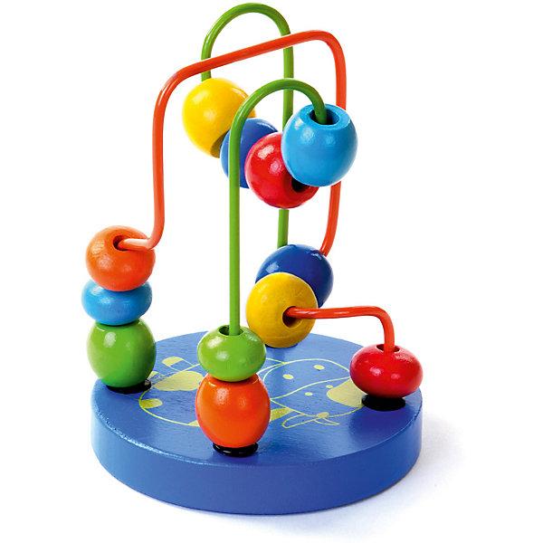 Лабиринт Mapacha маленький, синийДеревянные игрушки<br>Характеристики товара:<br><br>• возраст: от 3 лет;<br>• комплектация: 48 деталей;  <br>• цвет: синий;<br>• материал: дерево, пластик;<br>• размер: 9х9х12 см;<br>• вес: 129 гр.<br><br>Лабиринт - это увлекательная игрушка, предназначена специально для развития мелкой моторики рук у малышей.Ребёнку очень понравится передвигать  яркие, разноцветные бусины по крутому и извилистому лабиринту. Изделие изготовлено из натуральной древесины.<br><br>Лабиринт маленький, синий можно купить в нашем интернет-магазине.<br>Ширина мм: 90; Глубина мм: 90; Высота мм: 125; Вес г: 129; Цвет: синий; Возраст от месяцев: -2147483648; Возраст до месяцев: 2147483647; Пол: Унисекс; Возраст: Детский; SKU: 7189984;