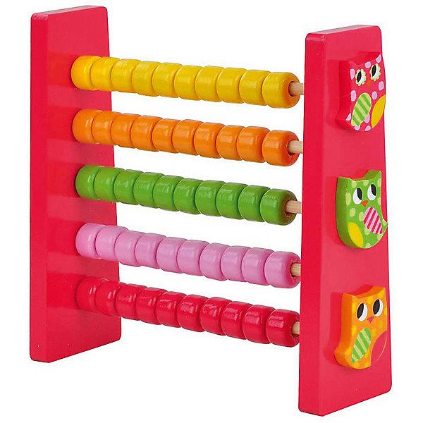 Счеты СовятаПособия для обучения счёту<br>Характеристики товара:<br><br>• возраст: от 3 лет;<br>• материал: дерево;<br>• размер игрушки: 15х15х5 см;<br>• размер упаковки: 15х15х5 см;<br>• вес упаковки: 187 гр.;<br>• страна производитель: Китай.<br><br>Счеты «Совята» Mapacha — развивающая игрушка для малышей, которая способствует развитию мелкой моторики рук, логического мышления, познакомит ребенка с цифрами, базовыми элементами счета. На 5 осях находятся разноцветные бусины, которые ребенок будет перебирать и составлять из них узоры. Игрушка выполнена из качественного натурального дерева, хорошо отшлифована и окрашена безопасными красителями.<br><br>Счеты «Совята» Mapacha можно приобрести в нашем интернет-магазине.<br>Ширина мм: 150; Глубина мм: 50; Высота мм: 150; Вес г: 208; Возраст от месяцев: -2147483648; Возраст до месяцев: 2147483647; Пол: Унисекс; Возраст: Детский; SKU: 7190016;