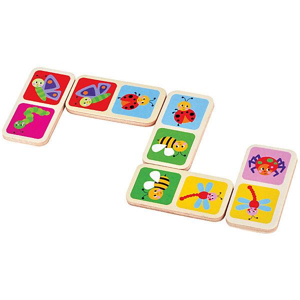 Домино БабочкиДомино<br>Характеристики товара:<br><br>• возраст: от 3 лет;<br>• материал: дерево;<br>• в комплекте: 28 деталей;<br>• размер упаковки: 16х9х4 см;<br>• вес упаковки: 208 гр.;<br>• страна производитель: Китай.<br><br>Домино «Бабочки» Mapacha — увлекательная настольная игра для малышей. Как и в классическом домино, детям предстоит расставлять детали на игровом поле одинаковыми картинками друг к другу. Все детали выполнены из качественного натурального дерева, хорошо отшлифованы и окрашены безопасными красителями.<br><br>Домино «Бабочки» Mapacha можно приобрести в нашем интернет-магазине.<br>Ширина мм: 160; Глубина мм: 40; Высота мм: 90; Вес г: 225; Возраст от месяцев: -2147483648; Возраст до месяцев: 2147483647; Пол: Унисекс; Возраст: Детский; SKU: 7190144;