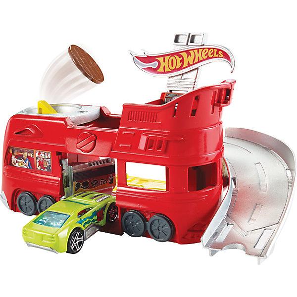 Трансформирующийся игровой набор Ghost Garage  Hot WheelsМашинки<br><br>Ширина мм: 205; Глубина мм: 65; Высота мм: 190; Вес г: 322; Возраст от месяцев: 48; Возраст до месяцев: 120; Пол: Мужской; Возраст: Детский; SKU: 7191198;