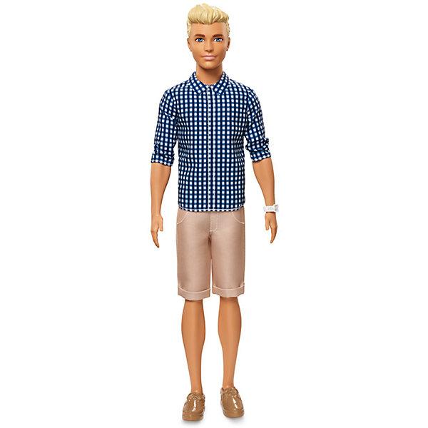 Кен из серии Игра с модой 29 см, BarbieBarbie<br><br><br>Ширина мм: 125<br>Глубина мм: 60<br>Высота мм: 325<br>Вес г: 282<br>Возраст от месяцев: 36<br>Возраст до месяцев: 120<br>Пол: Женский<br>Возраст: Детский<br>SKU: 7191201