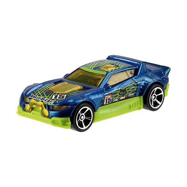 Машинка Hot Wheels из базовой коллекцииМашинки<br>Характеристики:<br><br>• возраст: от 3 лет;<br>• материал: металл, пластмасса;<br>• вес упаковки: 30 гр.;<br>• размер упаковки: 11х4х11 см;<br>• тип упаковки: блистерный;<br>• страна бренда: США.<br><br>Машинка Hot Wheels от Mattel входит в группу моделей базовой коллекции. Миниатюры этой серии изображают реальные автомобили, спорткары, фургоны, мотоциклы в масштабе 1:64, а также модели с собственным оригинальным дизайном. Собрав свою линейку машинок, ребенок сможет устраивать заезды, гонки и меняться экземплярами с друзьями.<br><br>Монолитные элементы игрушки увеличивают ее прочность. Падение и столкновение с твердыми предметами во время игр не отражается на внешнем виде и ходе машинки. Кузов отчетливо детализирован, покрыт стойкими насыщенными красками. Колеса легко крутятся вокруг своей оси.<br><br>Игрушка выполнена из качественных материалов, сертифицированных по стандартам безопасности для использования детьми.<br><br>Машинку Hot Wheels из базовой коллекции можно купить в нашем интернет-магазине.<br>Ширина мм: 110; Глубина мм: 45; Высота мм: 110; Вес г: 30; Возраст от месяцев: 36; Возраст до месяцев: 96; Пол: Мужской; Возраст: Детский; SKU: 7191252;