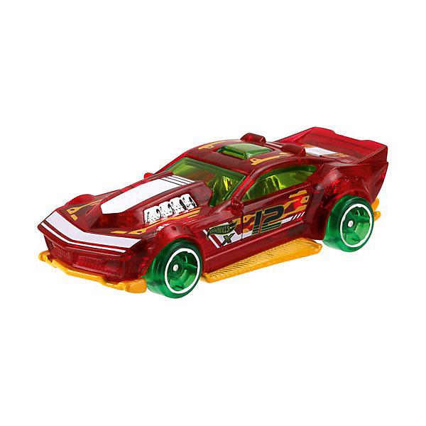 Машинка Hot Wheels из базовой коллекцииПопулярные игрушки<br>Характеристики:<br><br>• возраст: от 3 лет;<br>• материал: металл, пластмасса;<br>• вес упаковки: 30 гр.;<br>• размер упаковки: 11х4х11 см;<br>• тип упаковки: блистерный;<br>• страна бренда: США.<br><br>Машинка Hot Wheels от Mattel входит в группу моделей базовой коллекции. Миниатюры этой серии изображают реальные автомобили, спорткары, фургоны, мотоциклы в масштабе 1:64, а также модели с собственным оригинальным дизайном. Собрав свою линейку машинок, ребенок сможет устраивать заезды, гонки и меняться экземплярами с друзьями.<br><br>Монолитные элементы игрушки увеличивают ее прочность. Падение и столкновение с твердыми предметами во время игр не отражается на внешнем виде и ходе машинки. Кузов отчетливо детализирован, покрыт стойкими насыщенными красками. Колеса легко вращаются вокруг своей оси.<br><br>Игрушка выполнена из качественных материалов, сертифицированных по стандартам безопасности для использования детьми.<br><br>Машинку Hot Wheels из базовой коллекции можно купить в нашем интернет-магазине.<br>Ширина мм: 110; Глубина мм: 45; Высота мм: 110; Вес г: 30; Возраст от месяцев: 36; Возраст до месяцев: 96; Пол: Мужской; Возраст: Детский; SKU: 7191259;