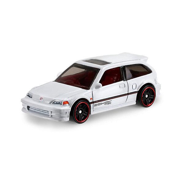 Машинка Hot Wheels из базовой коллекцииМашинки<br>Характеристики:<br><br>• возраст: от 3 лет;<br>• материал: металл, пластмасса;<br>• вес упаковки: 30 гр.;<br>• размер упаковки: 11х4х11 см;<br>• тип упаковки: блистерный;<br>• страна бренда: США.<br><br>Машинка Hot Wheels от Mattel входит в группу моделей базовой коллекции. Миниатюры этой серии изображают реальные автомобили, спорткары, фургоны, мотоциклы в масштабе 1:64, а также модели с собственным оригинальным дизайном. Собрав свою линейку машинок, ребенок сможет устраивать заезды, гонки и меняться экземплярами с друзьями.<br><br>Монолитные элементы игрушки увеличивают ее прочность. Падение и столкновение с твердыми предметами во время игр не отражается на внешнем виде и ходе машинки. Кузов отчетливо детализирован, покрыт стойкими насыщенными красками. Колеса легко вращаются вокруг своей оси.<br><br>Игрушка выполнена из качественных материалов, сертифицированных по стандартам безопасности для использования детьми.<br><br>Машинку Hot Wheels из базовой коллекции можно купить в нашем интернет-магазине.<br>Ширина мм: 110; Глубина мм: 45; Высота мм: 110; Вес г: 30; Возраст от месяцев: 36; Возраст до месяцев: 96; Пол: Мужской; Возраст: Детский; SKU: 7191273;