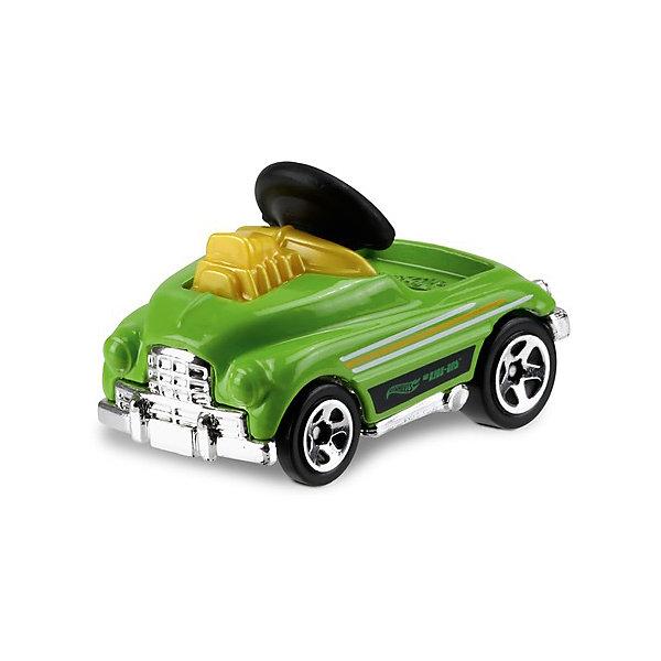 Машинка Hot Wheels из базовой коллекцииМашинки<br>Характеристики:<br><br>• возраст: от 3 лет;<br>• материал: металл, пластмасса;<br>• вес упаковки: 30 гр.;<br>• размер упаковки: 11х4х11 см;<br>• тип упаковки: блистерный;<br>• страна бренда: США.<br><br>Машинка Hot Wheels от Mattel входит в группу моделей базовой коллекции. Миниатюры этой серии изображают реальные автомобили, спорткары, фургоны, мотоциклы в масштабе 1:64, а также модели с собственным оригинальным дизайном. Собрав свою линейку машинок, ребенок сможет устраивать заезды, гонки и меняться экземплярами с друзьями.<br><br>Монолитные элементы игрушки увеличивают ее прочность. Падение и столкновение с твердыми предметами во время игр не отражается на внешнем виде и ходе машинки. Кузов отчетливо детализирован, покрыт стойкими насыщенными красками. Колеса легко вращаются вокруг своей оси.<br><br>Игрушка выполнена из качественных материалов, сертифицированных по стандартам безопасности для использования детьми.<br><br>Машинку Hot Wheels из базовой коллекции можно купить в нашем интернет-магазине.<br>Ширина мм: 110; Глубина мм: 45; Высота мм: 110; Вес г: 30; Возраст от месяцев: 36; Возраст до месяцев: 96; Пол: Мужской; Возраст: Детский; SKU: 7191305;