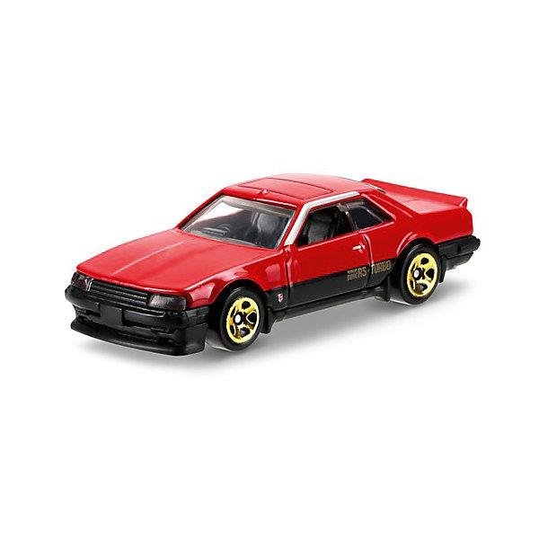 Базовая машинка Mattel Hot Wheels, 82 Nissan Skyline R30Машинки<br>Характеристики:<br><br>• возраст: от 3 лет;<br>• материал: металл, пластмасса;<br>• вес упаковки: 30 гр.;<br>• размер упаковки: 11х4х11 см;<br>• тип упаковки: блистерный;<br>• страна бренда: США.<br><br>Машинка Hot Wheels от Mattel входит в группу моделей базовой коллекции. Миниатюры этой серии изображают реальные автомобили, спорткары, фургоны, мотоциклы в масштабе 1:64, а также модели с собственным оригинальным дизайном. Собрав свою линейку машинок, ребенок сможет устраивать заезды, гонки и меняться экземплярами с друзьями.<br><br>Монолитные элементы игрушки увеличивают ее прочность. Падение и столкновение с твердыми предметами во время игр не отражается на внешнем виде и ходе машинки. Кузов отчетливо детализирован, покрыт стойкими насыщенными красками. Колеса легко вращаются вокруг своей оси.<br><br>Игрушка выполнена из качественных материалов, сертифицированных по стандартам безопасности для использования детьми.<br><br>Машинку Hot Wheels из базовой коллекции можно купить в нашем интернет-магазине.<br>Ширина мм: 110; Глубина мм: 45; Высота мм: 110; Вес г: 30; Возраст от месяцев: 36; Возраст до месяцев: 96; Пол: Мужской; Возраст: Детский; SKU: 7191324;