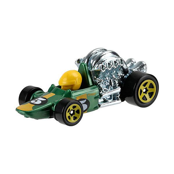 Базовая машинка Mattel Hot Wheels, Head StarterМашинки<br>Характеристики:<br><br>• возраст: от 3 лет;<br>• материал: металл, пластмасса;<br>• вес упаковки: 30 гр.;<br>• размер упаковки: 11х4х11 см;<br>• тип упаковки: блистерный;<br>• страна бренда: США.<br><br>Машинка Hot Wheels от Mattel входит в группу моделей базовой коллекции. Миниатюры этой серии изображают реальные автомобили, спорткары, фургоны, мотоциклы в масштабе 1:64, а также модели с собственным оригинальным дизайном. Собрав свою линейку машинок, ребенок сможет устраивать заезды, гонки и меняться экземплярами с друзьями.<br><br>Монолитные элементы игрушки увеличивают ее прочность. Падение и столкновение с твердыми предметами во время игр не отражается на внешнем виде и ходе машинки. Кузов отчетливо детализирован, покрыт стойкими насыщенными красками. Колеса легко вращаются вокруг своей оси.<br><br>Игрушка выполнена из качественных материалов, сертифицированных по стандартам безопасности для использования детьми.<br><br>Машинку Hot Wheels из базовой коллекции можно купить в нашем интернет-магазине.<br>Ширина мм: 110; Глубина мм: 45; Высота мм: 110; Вес г: 30; Возраст от месяцев: 36; Возраст до месяцев: 96; Пол: Мужской; Возраст: Детский; SKU: 7191327;