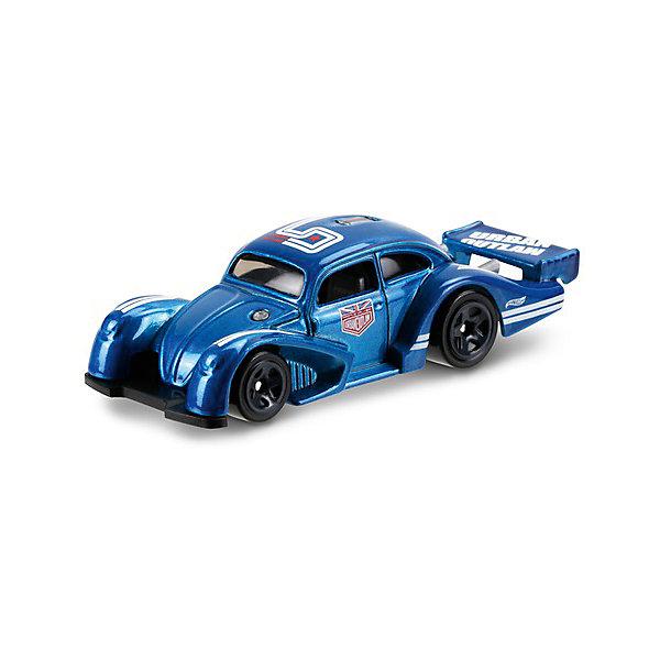 Базовая машинка Mattel Hot Wheels, Volkswagen Kafer RacerМашинки<br>Характеристики:<br><br>• возраст: от 3 лет;<br>• материал: металл, пластмасса;<br>• вес упаковки: 30 гр.;<br>• размер упаковки: 11х4х11 см;<br>• тип упаковки: блистерный;<br>• страна бренда: США.<br><br>Машинка Hot Wheels от Mattel входит в группу моделей базовой коллекции. Миниатюры этой серии изображают реальные автомобили, спорткары, фургоны, мотоциклы в масштабе 1:64, а также модели с собственным оригинальным дизайном. Собрав свою линейку машинок, ребенок сможет устраивать заезды, гонки и меняться экземплярами с друзьями.<br><br>Монолитные элементы игрушки увеличивают ее прочность. Падение и столкновение с твердыми предметами во время игр не отражается на внешнем виде и ходе машинки. Кузов отчетливо детализирован, покрыт стойкими насыщенными красками. Колеса легко вращаются вокруг своей оси.<br><br>Игрушка выполнена из качественных материалов, сертифицированных по стандартам безопасности для использования детьми.<br><br>Машинку Hot Wheels из базовой коллекции можно купить в нашем интернет-магазине.<br>Ширина мм: 110; Глубина мм: 45; Высота мм: 110; Вес г: 30; Возраст от месяцев: 36; Возраст до месяцев: 96; Пол: Мужской; Возраст: Детский; SKU: 7191328;